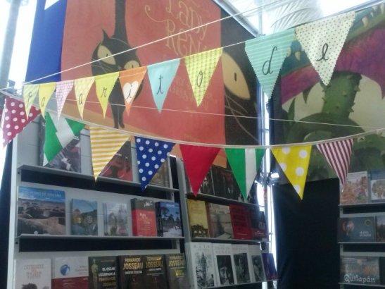 De los puestos este fue el que más me gustó, porque los banderines le dieron un toque de distinción.