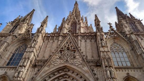 Pasée por el Barrio Gótico y conocí la Catedral Santa Eulalia.